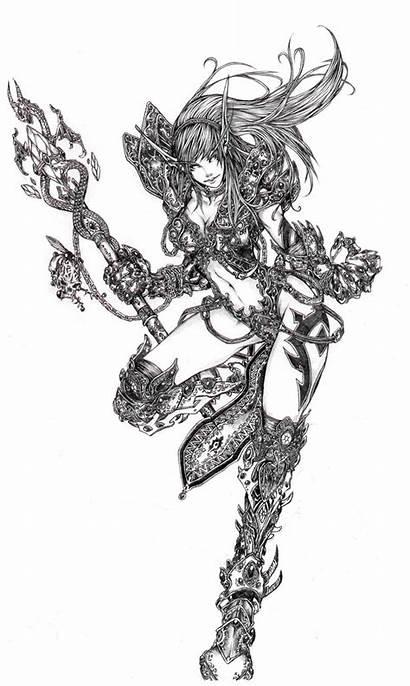 Elf Blood Warlock Deviantart Muju Wow Fan