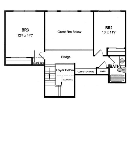 tanglewood cape  style home plan   house plans