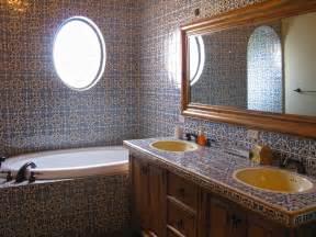 mexican tile bathroom ideas 44 top talavera tile design ideas