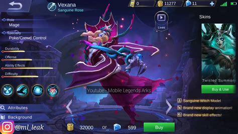 Vexana New Elite Skin
