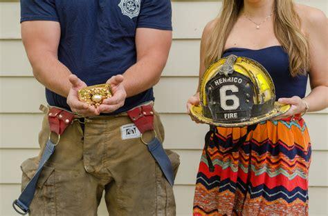 Firefighter Wedding Ceremony