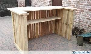 Bar Exterieur En Bois : bar en palette en bois recherche google projets ~ Premium-room.com Idées de Décoration