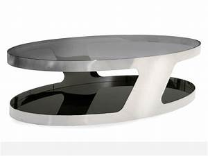 Table De Salon Alinea : table basse ovale conforama ~ Dailycaller-alerts.com Idées de Décoration