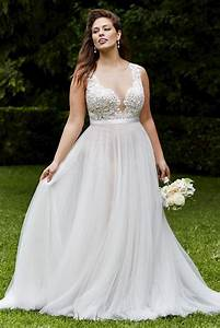 elegant plus size beach wedding dresses vintage lace With plus dresses for weddings