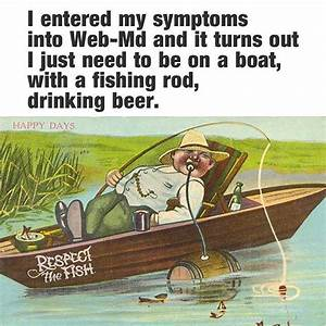 Funny Fishing M... Beer Fishing Quotes