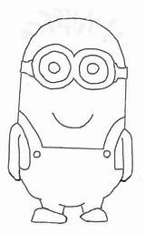 Minion Template Drawing Minions Blank Outline Flickr Coloring Classroom Craft Theme Templates Clip Bulletin Explore Basteln Something Crafts Printable Sure sketch template