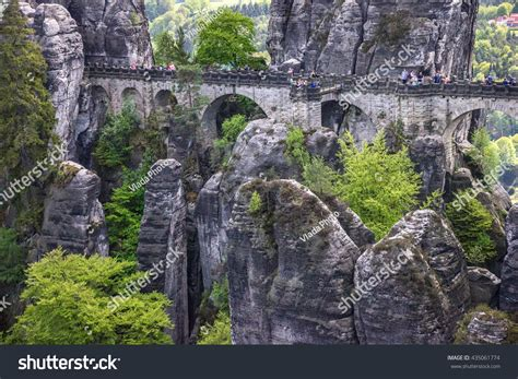 saxon switzerland germany bastei bridge saxony