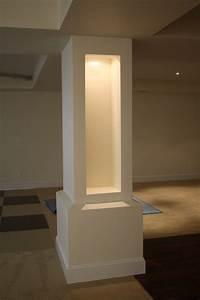 Eclectic Home Via Builders Inc - Contemporary - Basement