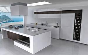 Moderne Küche Mit Kochinsel Und Theke : eine moderne kochinsel f r luxuri se k chen freshouse ~ Bigdaddyawards.com Haus und Dekorationen