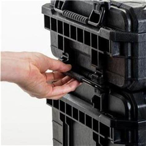 ridgid   pro gear cart mobile job box portable tool