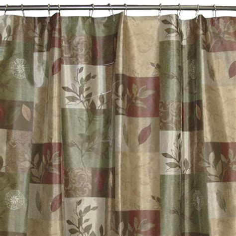 jcpenney discontinued curtains bacova sheffield shower curtain