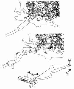 Jeep Patriot Gasket  Catalytic Converter  Awd  Catalytic