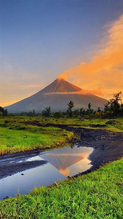 Philippines Mayon Travel Volcano Places Volcanoes Wallpapers