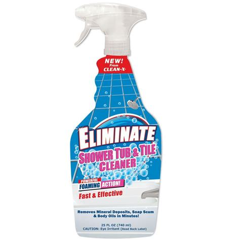 clean x 25 oz eliminate shower tub and tile cleaner 7999