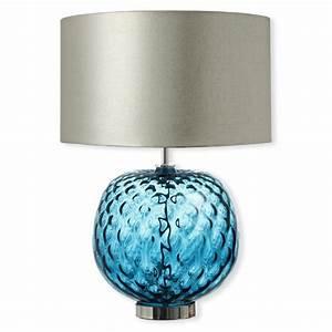 Lampe Bleu Canard : lampe en verre transparent ek47 jornalagora ~ Teatrodelosmanantiales.com Idées de Décoration