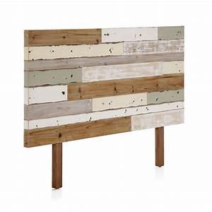 Tete De Lit Bois Flotté : t te de lit en bois color recycl the blog d co ~ Teatrodelosmanantiales.com Idées de Décoration