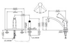single handle kitchen faucets - Kitchen Faucet Size