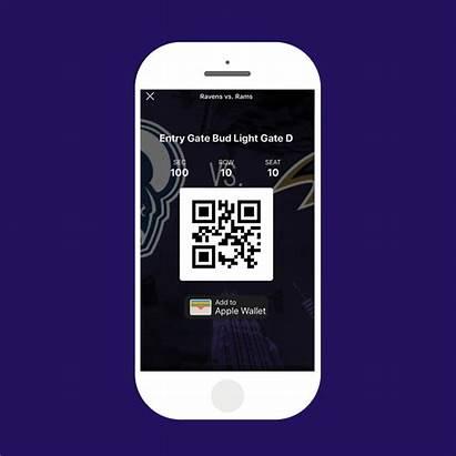 Ravens Tickets Digital App Baltimore