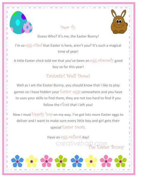 letter   easter bunny  printable