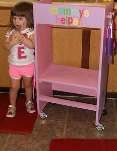 For The Love Of Food: DIY Kid's Kitchen Helper Stool