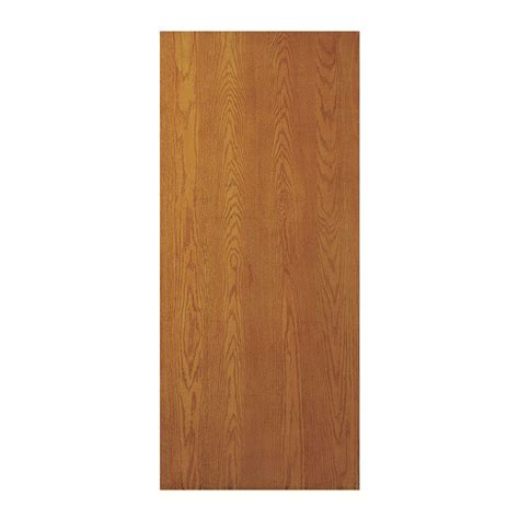 jeld wen      woodgrain flush unfinished oak