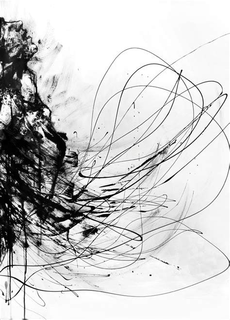 Abstract Black And White Ink Painting by 516 Best Black And White Abstract Paintings Images On