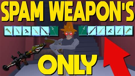 strucid  spam weapons onlyrip players youtube