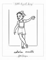 Overalls Astoria Coloring sketch template