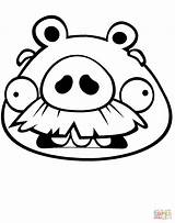 Coloring Pig Pages Face Moustache Foreman Bad Piggies Mustache Drawing Printable Mask Print Cylinder Graduated Beyonce Getcolorings Pa Getdrawings Colorings sketch template