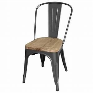Chaise En Acier : chaise en acier avignon le top du pro ~ Teatrodelosmanantiales.com Idées de Décoration