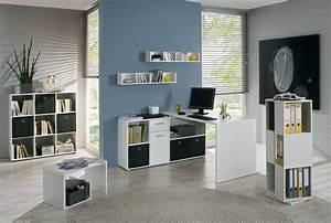 Arbeitszimmer Möbel : arbeitszimmer minioffice lexus 7 tlg in wei ~ Pilothousefishingboats.com Haus und Dekorationen