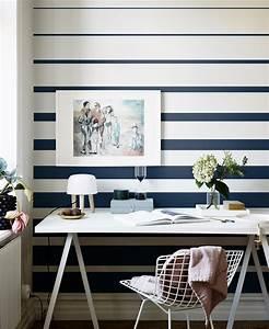 10 Striped Wallpaper Design Ideas