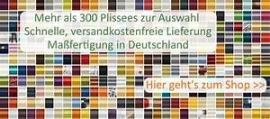 Plissee Rollo Ohne Bohren : plissee online kaufen plissee ~ Markanthonyermac.com Haus und Dekorationen
