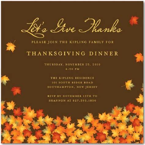 thanksgiving invitations greetingscom