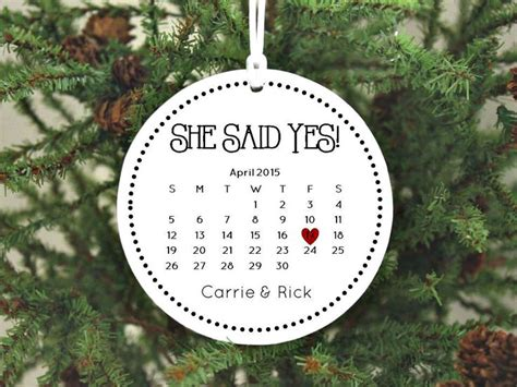 engagement ornaments ideas   pinterest