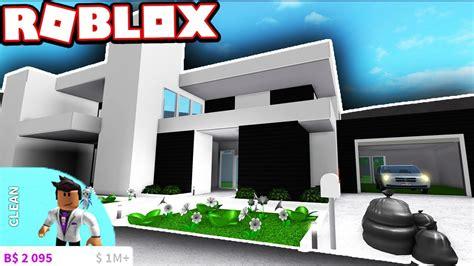 luxurious modern house super cheap roblox bloxburg youtube