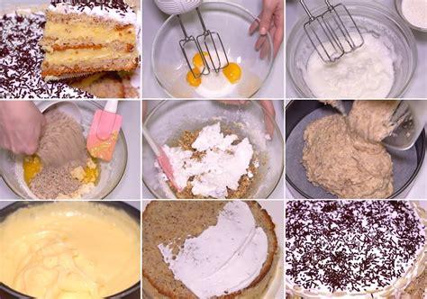 Šifona biskvīta torte ar vārīto krēmu un putukrējumu - Laiki mainās!