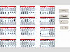 Calendario 2018 Cuba « Excel Avanzado