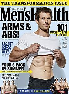 The Bachelor's Tim Robards covers Men's Health magazine ...