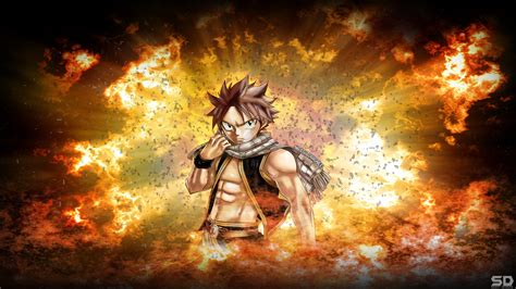 fairy tail natsu dragneel wallpaper  wallpapersafari