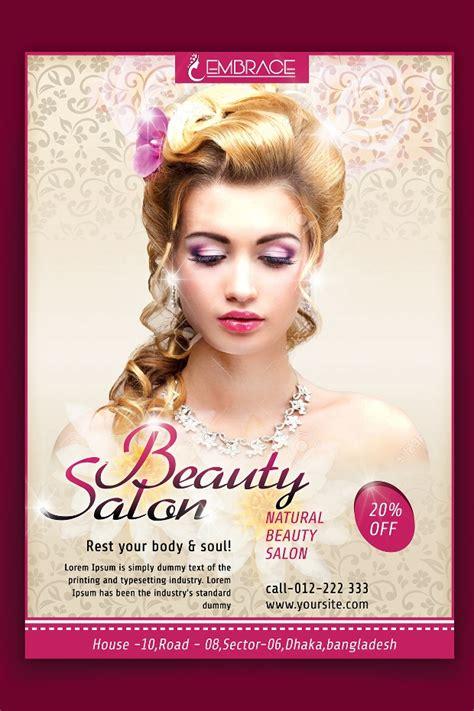 beauty flyer templates  designs word psd ai