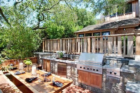 outdoor cuisine 95 cool outdoor kitchen designs digsdigs