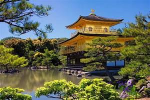 Kinkakuji  Golden Pavilion   Kyoto  Japan
