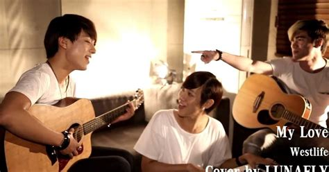 """Lunafly Releases Sweet Cover Of Westlife's """"my Love"""