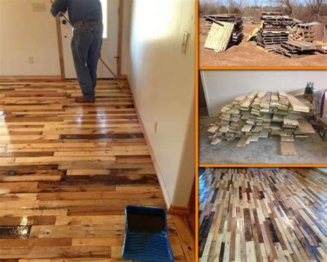 cool cheap floor ls diy pallet wood flooring tutorial diy pallet ideas