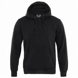 Plain Black Hoodies For Men | Fashion Ql