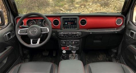 detailed     jeep wranglers dashboard news