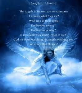 Another Angel in Heaven Poem