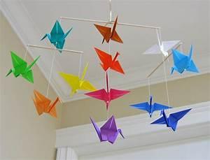 Mobile Basteln Origami : basteln mit kindern 100 origami diy projekte ~ Orissabook.com Haus und Dekorationen