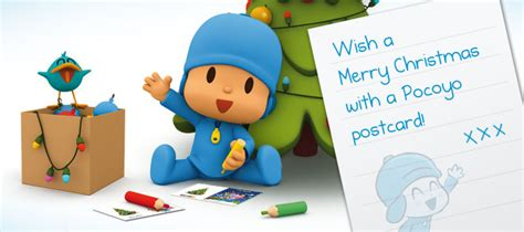 christmas cards greeting cards post cards pocoyo